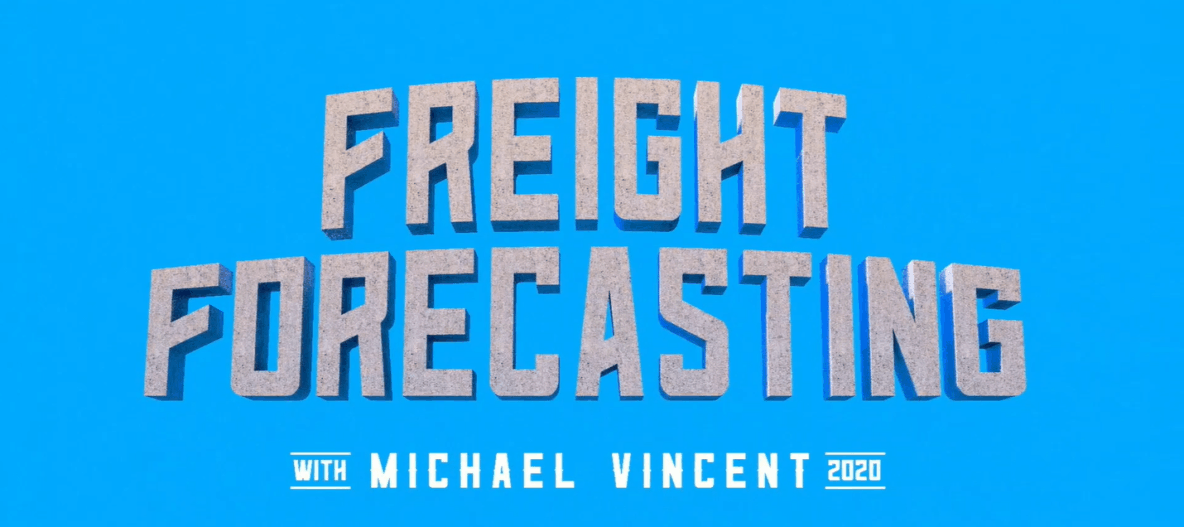 Freight Forecasting with Michael Vincent