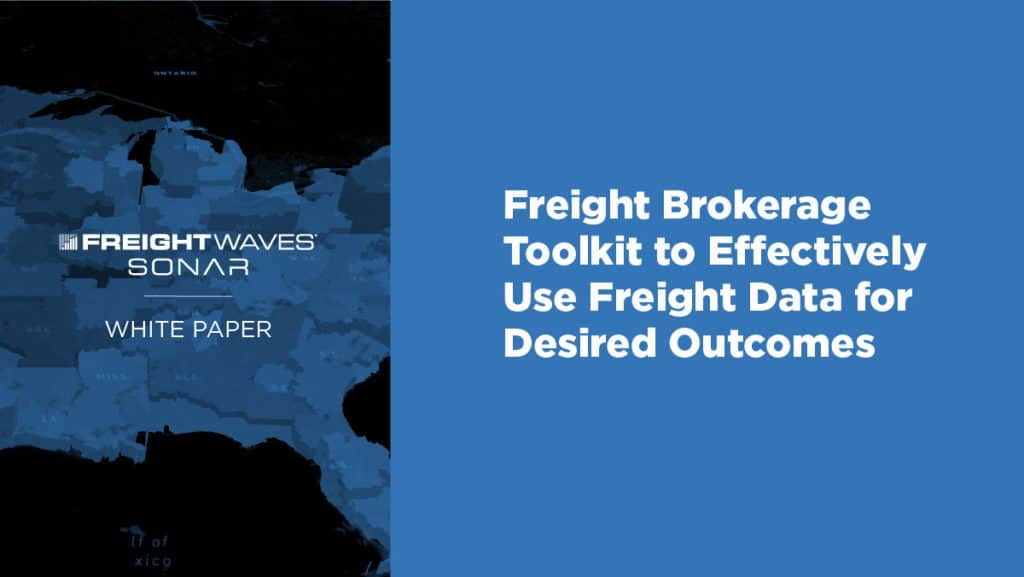 SONAR-White-Paper-freight brokerage toolkit